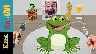 Kluna Tik Incredible Frog !!! Kluna Tik Style Dinner #43 | ASMR eating sounds no talk