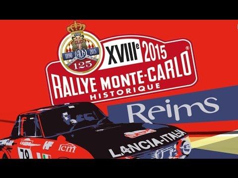 18éme RALLY MONTE CARLO HISTORIQUE 2015: