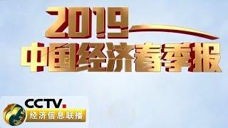 《2019中国经济春季报》 国家统计局公布一季度经济运行成绩单 2019开局如何?20190417 | CCTV财经
