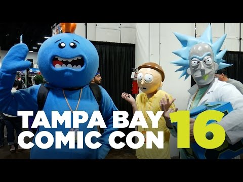Tampa Bay Comic Con 2016 - Cosplay Music Video