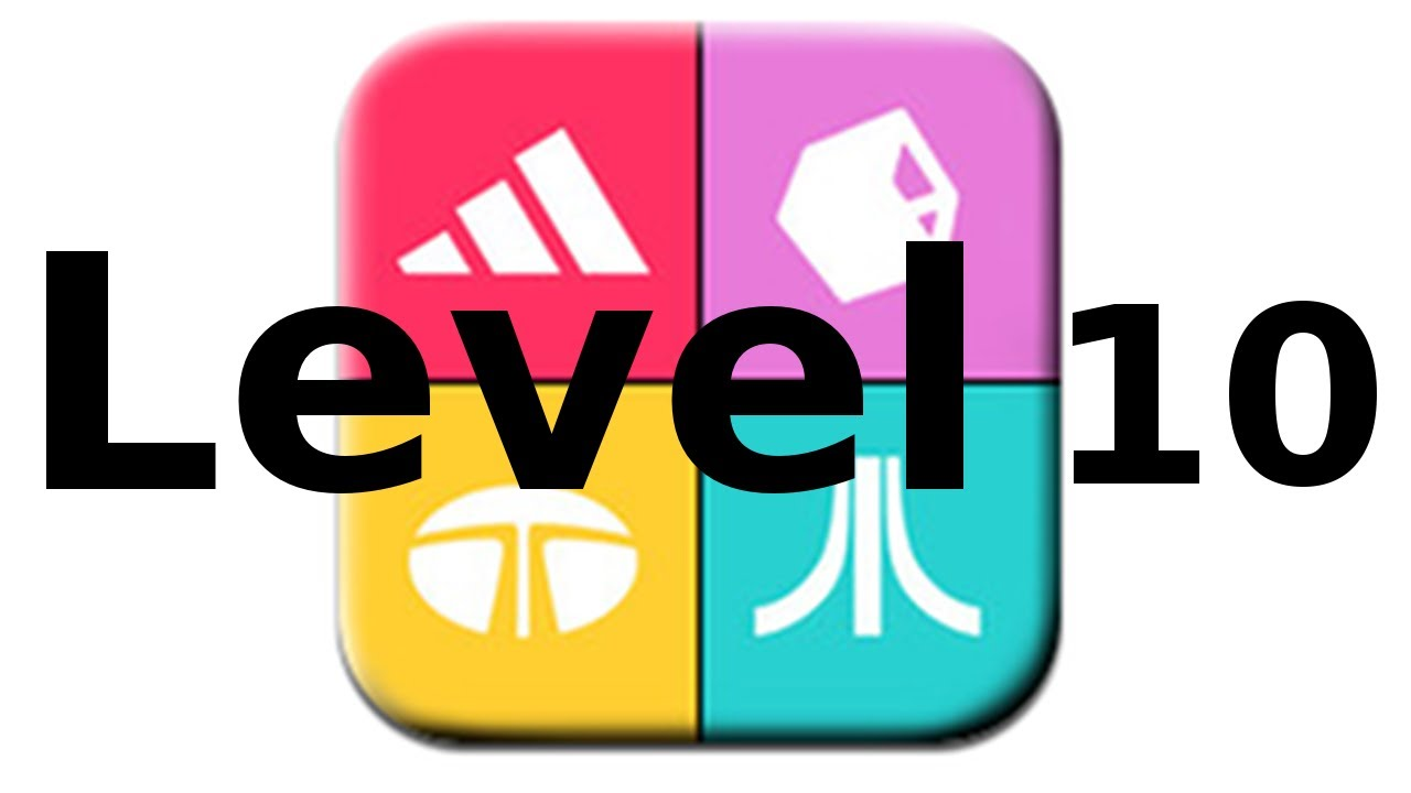 Logos Quiz Game   Level 10   Walkthrough   All Answers   YouTube