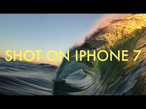 SHOT ON IPHONE 7!!! (in the ocean)