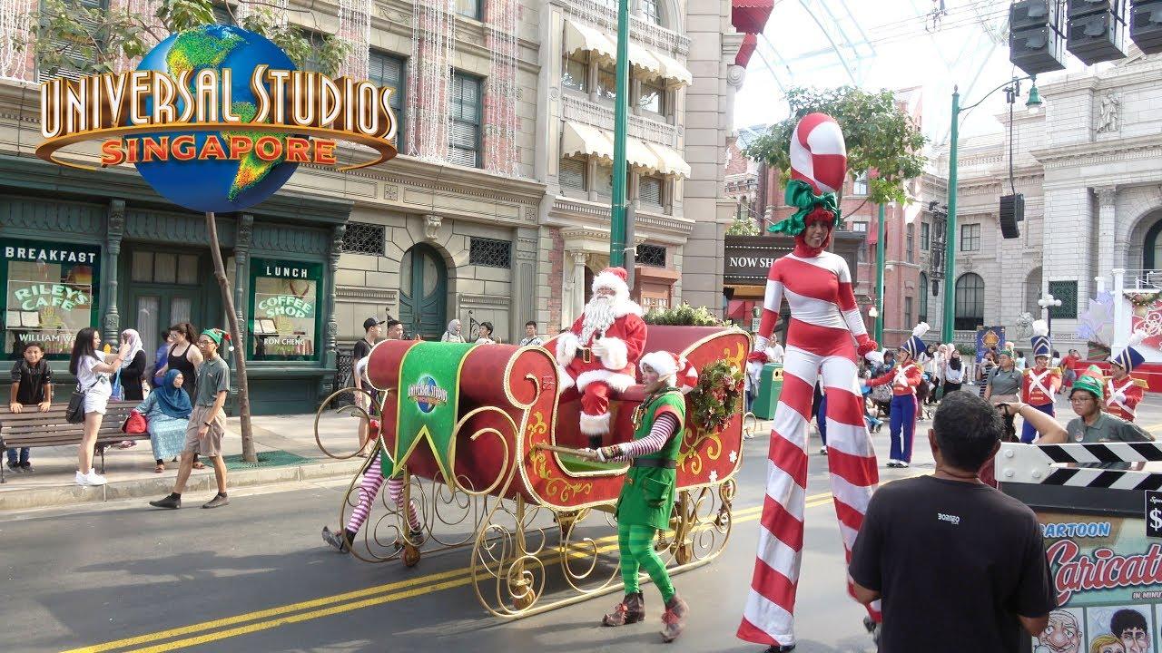 Universal Studios Christmas.Universal Studios Singapore Christmas 2017