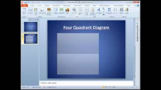 4-Quadrant PowerPoint Diagram