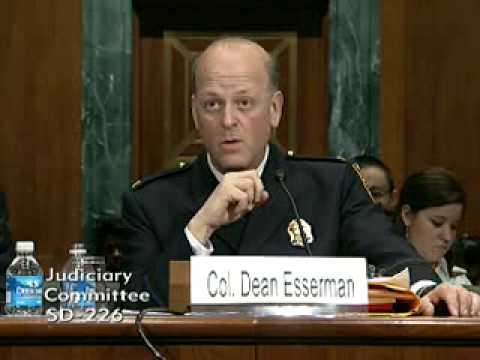 Col. Dean Esserman (Providence Police Dept) testifies on partnership with Rhode Island LISC