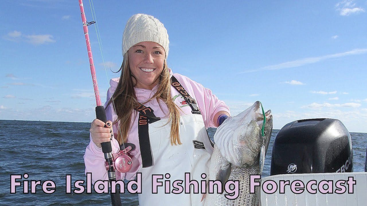 fire island fishing reports and forecast for october 24th