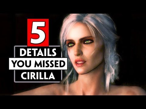 5 Small Details You Missed About Ciri   THE WITCHER 3