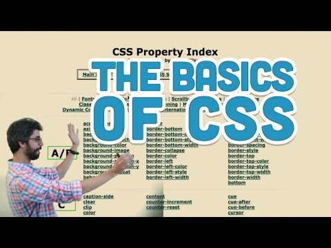 7.7: The Basics of CSS - p5.js Tutorial