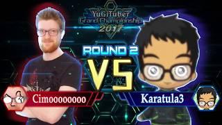 Yu-Gi-Oh! YugiTuber Grand Championship 2017 R2 | Cimoooooooo vs. Karatula3!