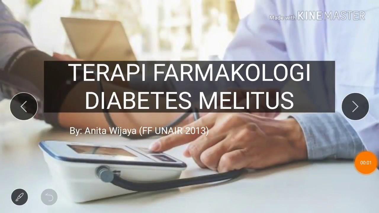 penggolongan obat diabetes melitus