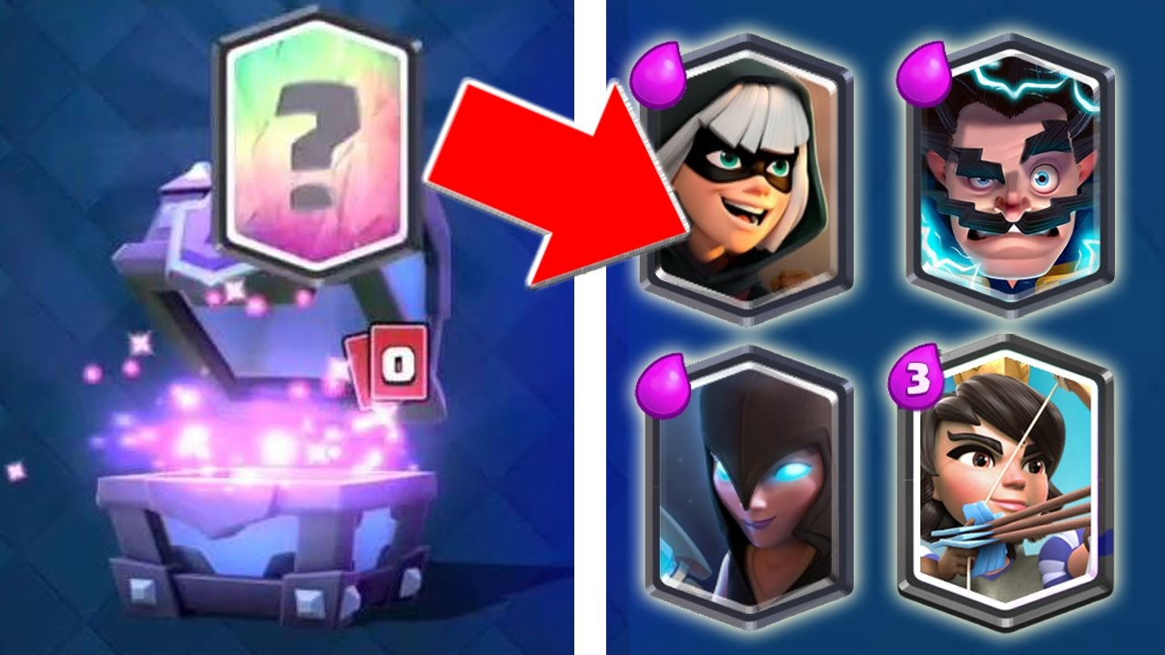 Tips Cara Mendapatkan Super Magical Chest Dan Legendary Card Clash