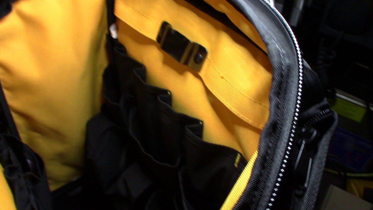 Fluke Pack30 field IT tech backpack unbox review - YouTube 91f8c95cad861
