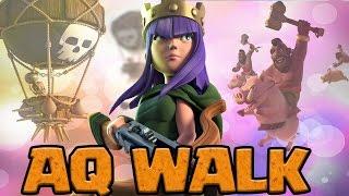 AQ WALK TH9 GOVAHO vs GOVALO | Epic 3 Star Attack Strategy | Clash of Clans