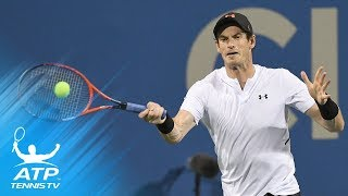 Andy Murray survives three-set EPIC against Mackenzie McDonald | Citi Open 2018 Day 1 Highlights