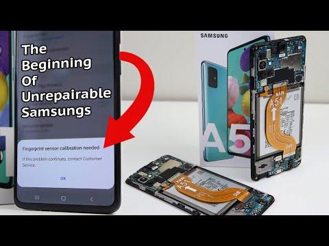 Samsung Starts Blocking 3rd Party Repairs? - Galaxy A51 Teardown and Repair Assessment