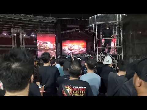 #GunsNRoses – Not in This Lifetime Tour Jakarta 2018 (Stadion Utama Gelora Bung Karno, Senayan)