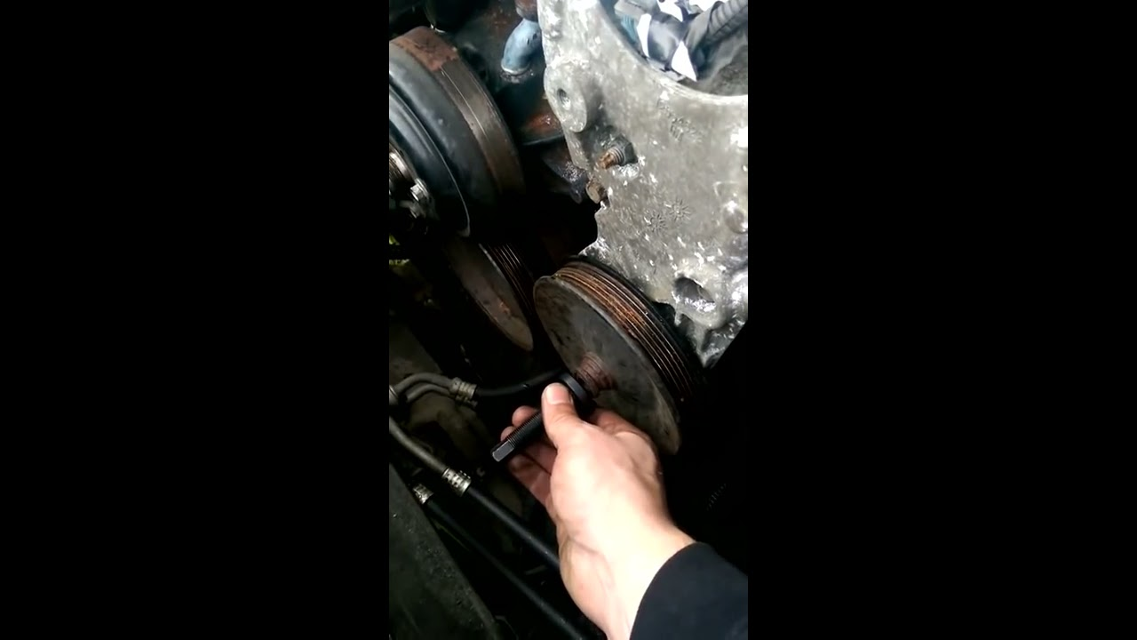 43 Engine Removal Part 6 Power Steering Pump And Bracket Youtube Geo Prizm 1 Cooling System Diagram