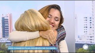 Filha roubada reencontra a mãe após 24 anos