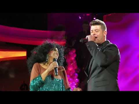 Diana Ross - Endless Love With Robin Thicke (75th Birthday Celebration, March 26, 2019)