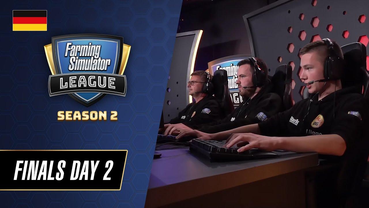 Farming Simulator League Season 2 Finals - Tag 2