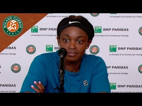 Sloane Stephens - Press Conference after Quarter-Final I Roland-Garros 2018