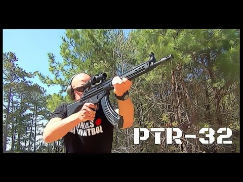 PTR 32 KFR: 7 62x39 Rifle That Takes AK-47 Magazines Review (HD)