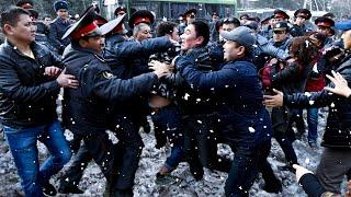 Драки на базаре Бишкека. Мэрия пытается очистить город от торговцев
