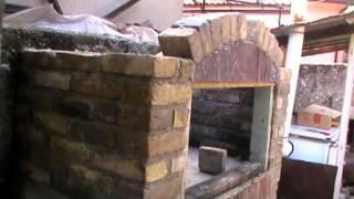 gradnja vrtnog kamina