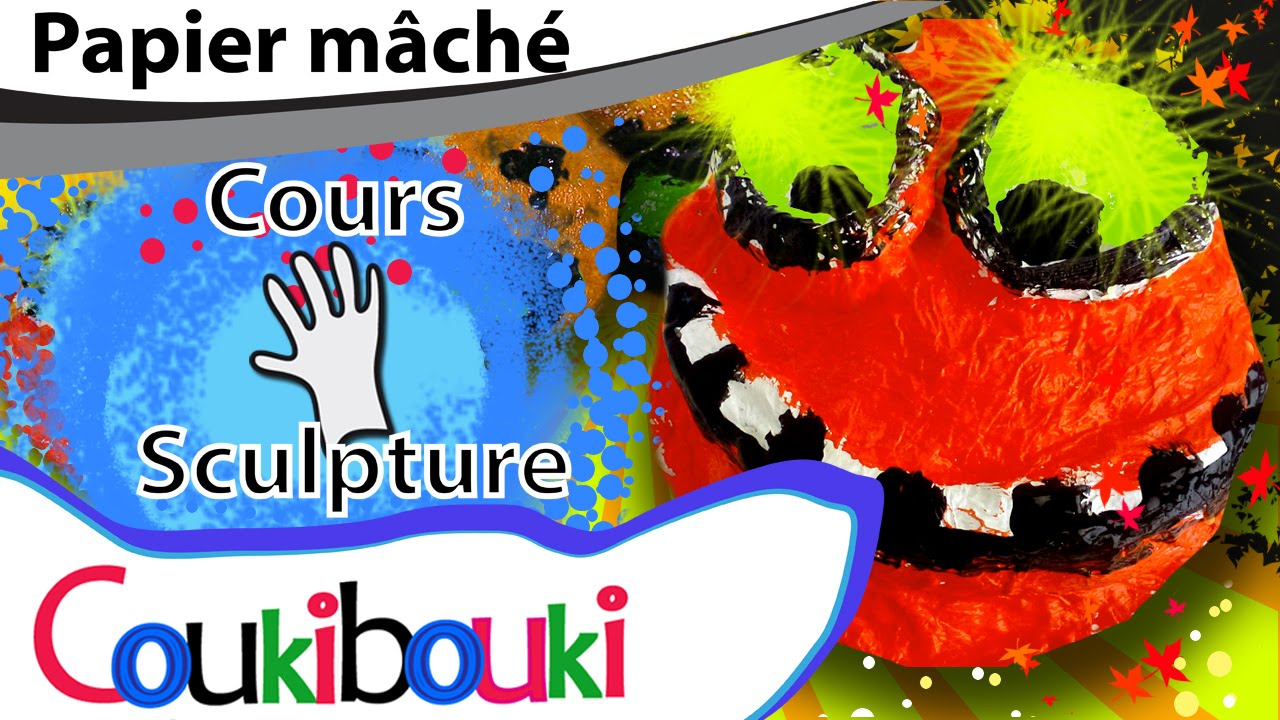 diy citrouille papier m ch d co d 39 halloween cours coukibouki comment faire youtube. Black Bedroom Furniture Sets. Home Design Ideas