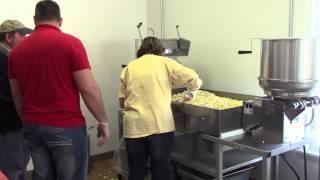 How to make popcorn in large popcorn machine