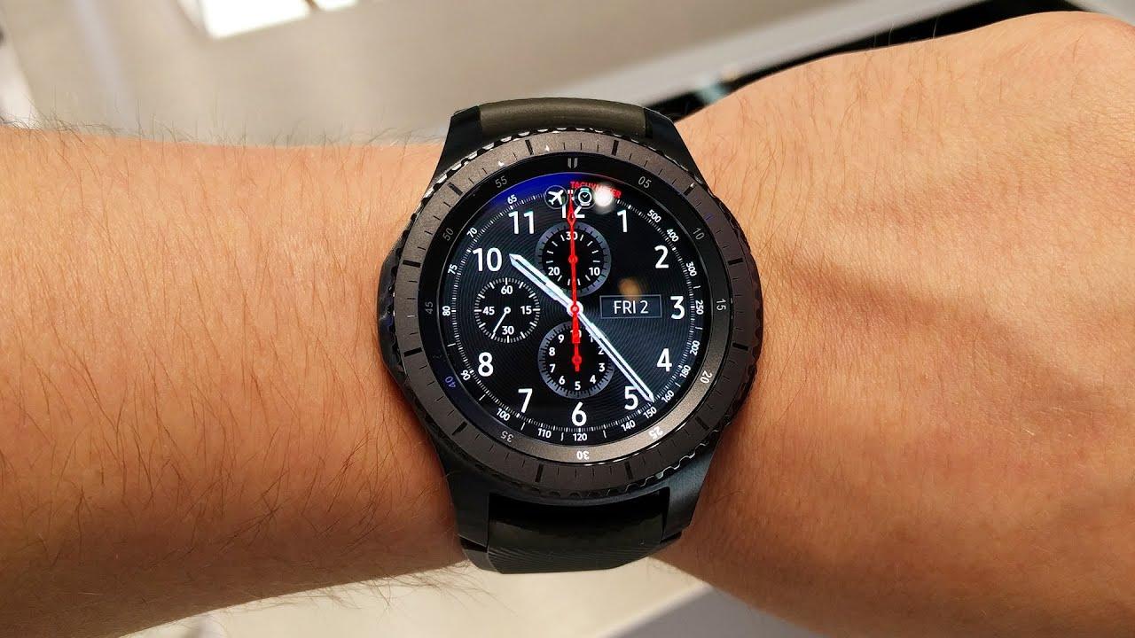 Купить смарт часы гир с3