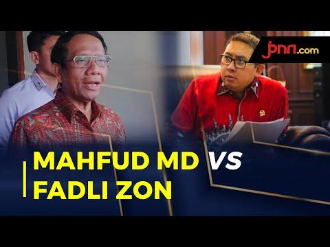 Mahfud MD Tertawakan Fadli Zon