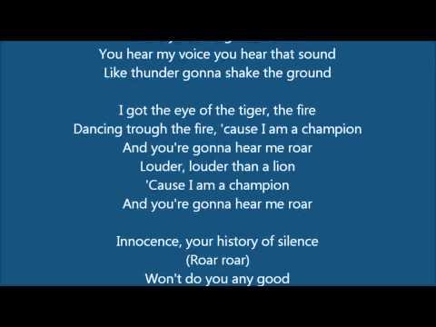Roar V.S. Brave | Lyrics