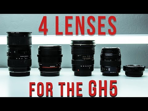 4 Lenses YOU need for the GH5/GH4