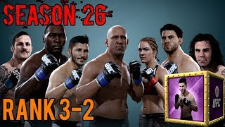 EA SPORTS UFC Mobile - H2H Season 26 Rank 3 - 2 Reward Opening!