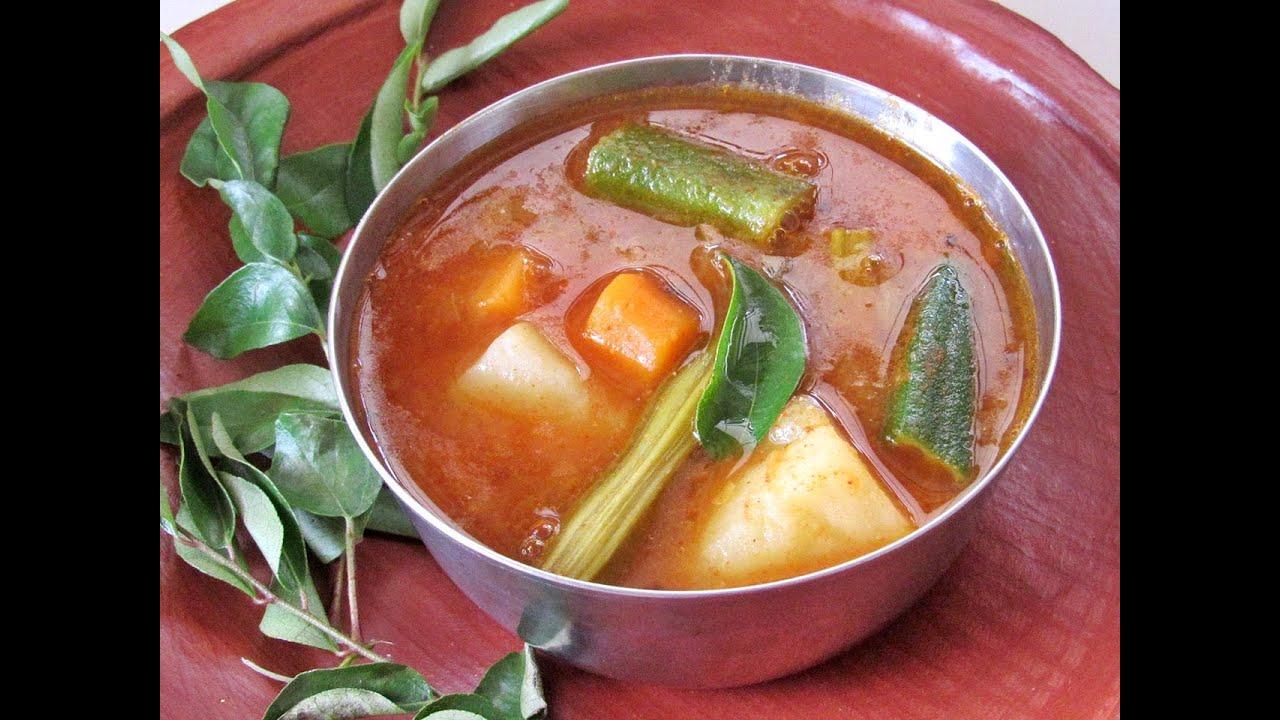 Kerala Sambar Recipe KERALA SAMBAR Nisa HomeyYouTube