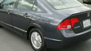 2007 Honda Civic Hybrid Sedan 4D in Tracy, CA 95304 - SOLD(, 2009-10-17T18:42:32.000Z)