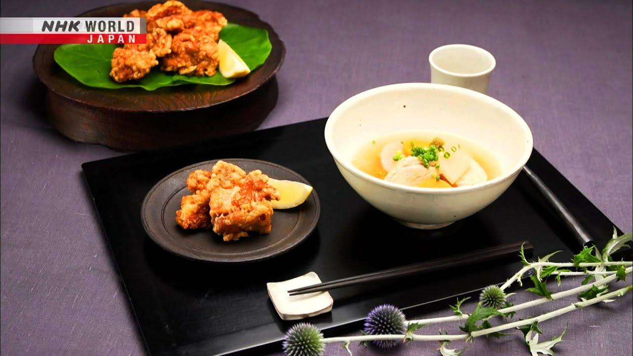 Photo of Chef Rika's Chicken Thigh Kara-age [Japanese Cooking] – Dining with the Chef – video