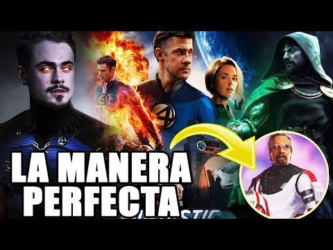 ¡YA LO TIENEN! Marvel llevará a los Cuatro Fantásticos al UCM con una forma perfecta