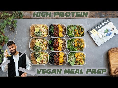 Quick easy high protein vegan meals