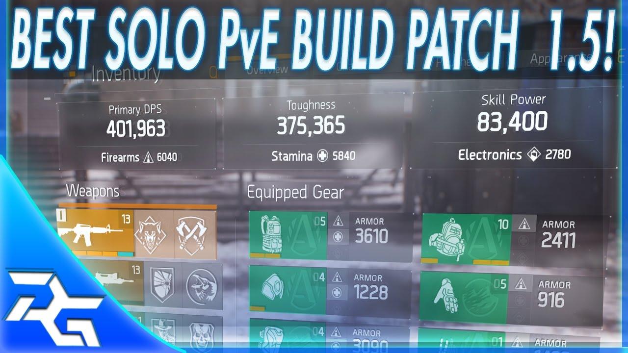 Division Best Dps Pve Build