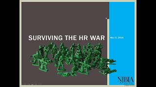 NJBIA Webinar: Surviving the HR War