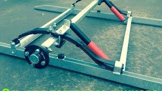 Ось для легкового прицепа. ALKO. 1300 кг. Колёса R15-16. ЦЛП АРИВА.