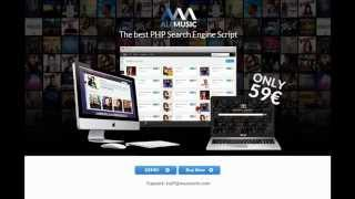 PHP Mp3 Search Script. Mp3 Download - ALLMUSIC.ME