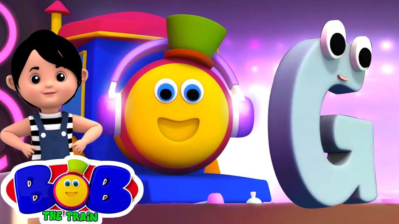 Canzone Dell'alfabeto | Lettera G | Canzoni per bambini | Bob The Train Italiano | Filastrocche