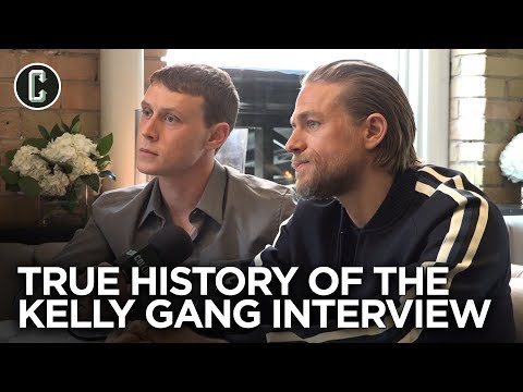 Charlie Hunnam And George MacKay On True History Of The Kelly Gang