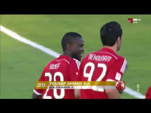 اهداف مباراة ( الخريطيات 2 (4-2 ) 2 العربي ) كأس أمير قطر 2016