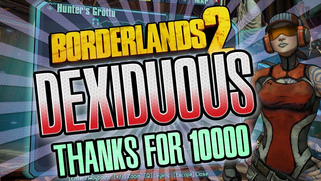Borderlands 2 Dexiduous fight + thank's for 10k subs - YouTube