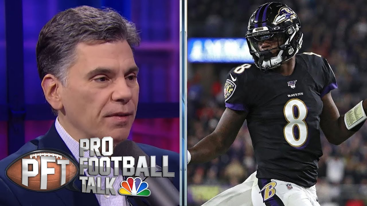 Lamar Jackson, Baltimore Ravens control game in win over Patriots | Pro Football Talk | NBC Sports