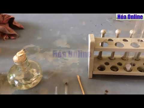 Đốt cháy khí Axetilen (C2H2)